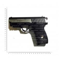 BORNER mod. Panther 801 (пистолет пневматический металл Blowback с ЛЦУ) 8.4020
