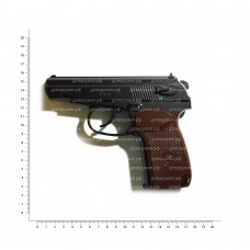 BORNER mod. PM Макаров (пистолет пневматический металл) 8.4949