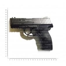 BORNER mod. W3000M (пистолет пневматический) 8.3021