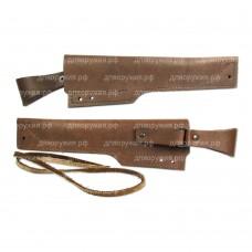 Для нескладного ножа кожаный Чехол №15(п)к
