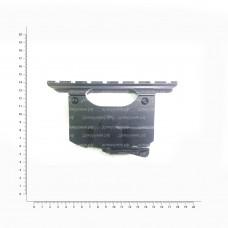 Кронштейн переходной с бок.кр. на Weaver N 24 (Сайга,Вепрь) L-154 ОК031-1