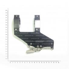 Кронштейн Тигр(д.30 вынос +60 мм.) бок.кр.ласт.хв.100*14*4 h-99мм ОК022