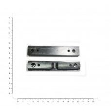 Планка боковая Тигр с плоским основанием+ ласт.хв.105*14*4 (сталь) ОК018