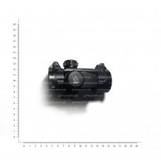 Прицел коллимат. LEAPERS UTG 1х30 Compact закрытый на Weaver, круг с точкой SCP-RG40CDQ