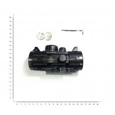 Прицел коллимат. LEAPERS UTG 1х30 Compact закрытый на Weaver,точка SCP-RG40SDQ