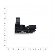 Прицел коллимат. ZOS 1x22х33RD панорамный на Weaver HQ434 5/8 HQ434 5/8