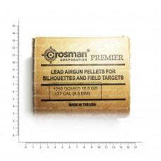 Пульки Crosman Domed 10,5 гран, в карт. коробке (1250) 177НВ