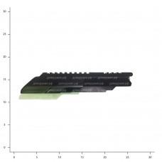 ВПО-205 (Крышка ствольной коробки с пл. Weaver сб.0-2)